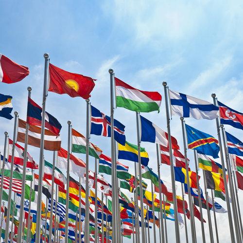 Landenvlaggen wereld