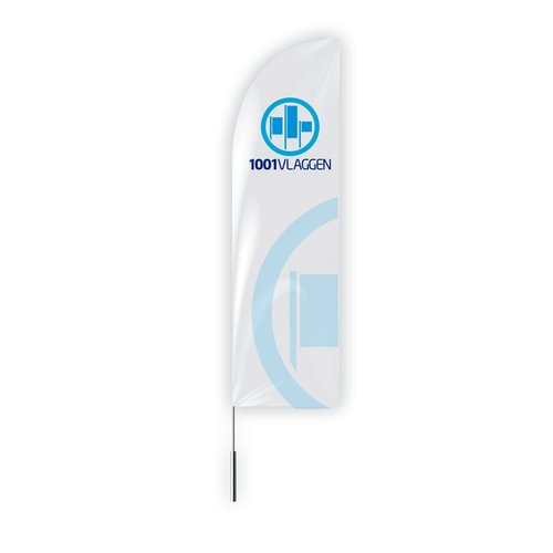 Doek Beachflag straight zonder flagpole en voet