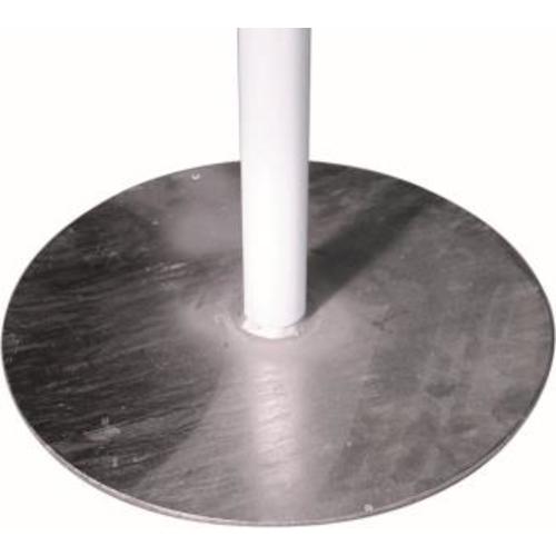 Ronde voet telescopische mast