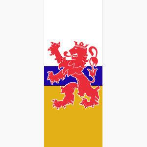 Baniervlag Limburg zonder tunnel