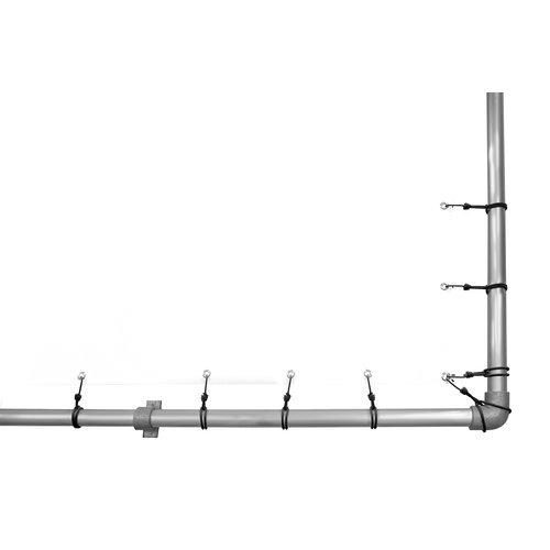 Set spanners met spinhaak voor spandoekframe