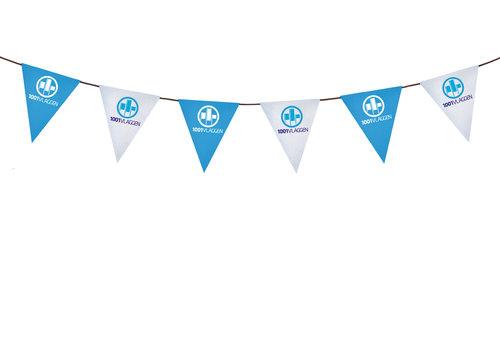 Vlaggenlijn met eigen logo/ontwerp