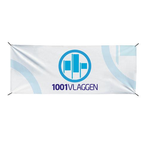 Spandoek dubbelzijdig bedrukt PVC Banner 610