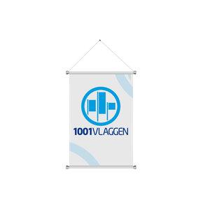 Indoorbanier (textielposter) 45 cm