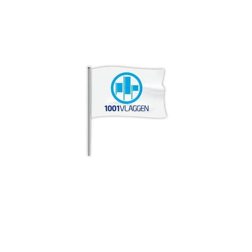 Mastvlag bedrukt met eigen logo/ontwerp