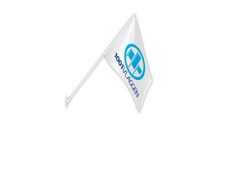 Gevelvlag met eigen logo/ontwerp