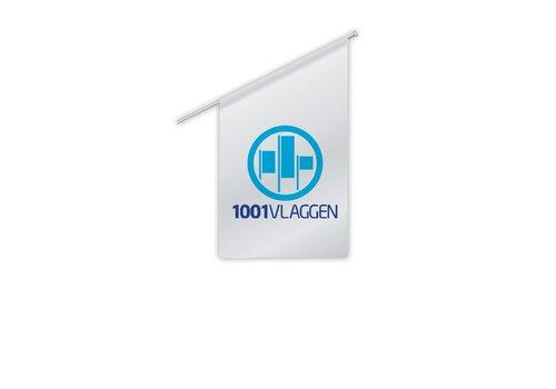 Kioskvlag met eigen logo/ontwerp
