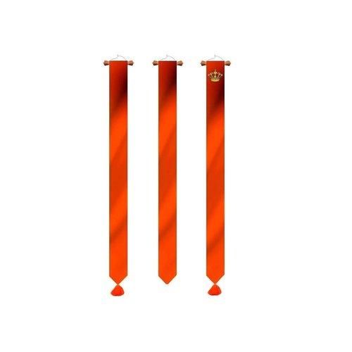 Oranje wimpels diverse uitvoeringen en afmetingen