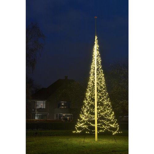 Fairybell 10/12 meter -2000LED warm-wit