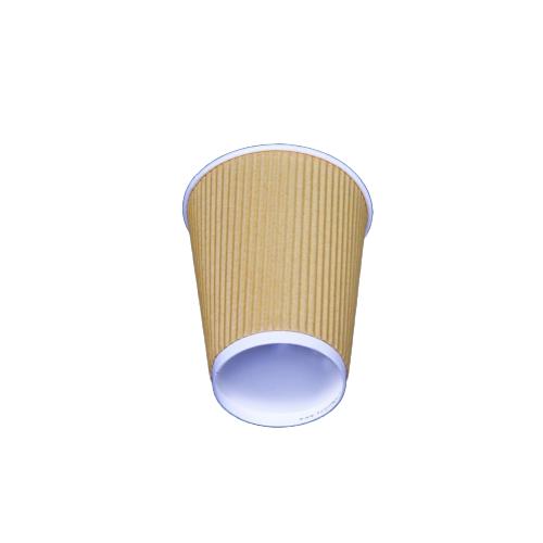 Kraft Ripple Cup 8 oz - 500 pieces