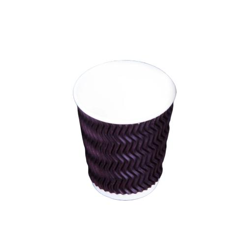 Zig-zag Ripple Cup 8 oz - 500 pieces