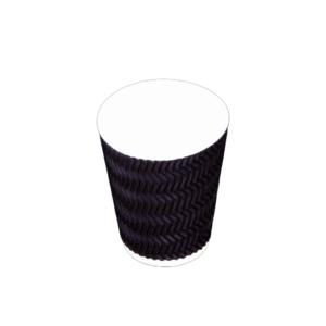 Zig-zag Ripple Cup 12 oz - 500 pieces