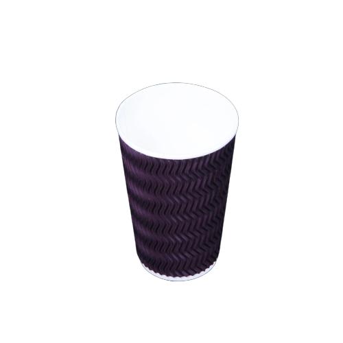 Zig-zag Ripple Cup 16 oz - 500 pieces