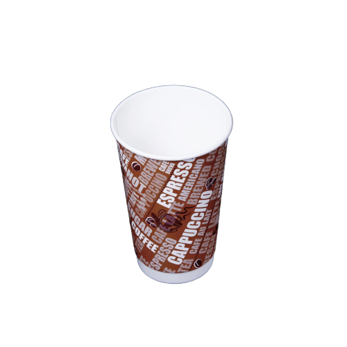 Double Wall Cup 16 oz - 500 pieces