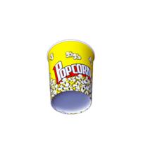 Round Pop Corn Tub 32 oz - 500 pieces