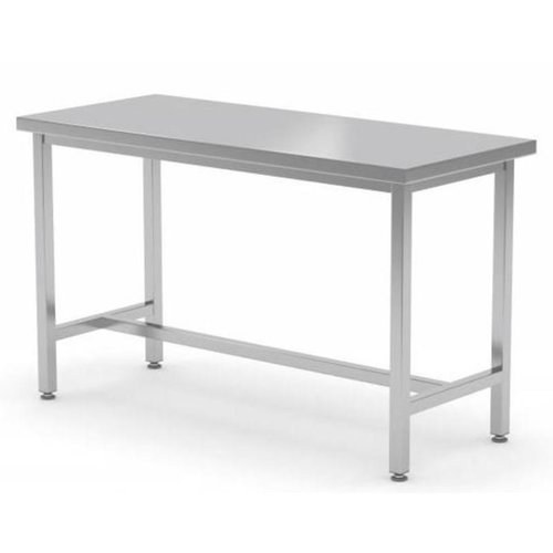 Stainless Steel Work Table with Bracing support | FREE SHIPPING & INSTALLATION
