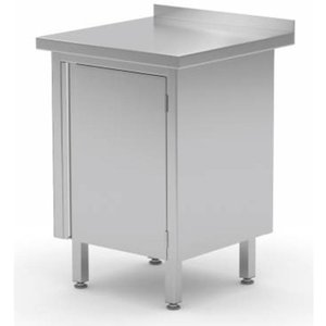Stainless Steel Cabinet with Single Hinged Door | FREE SHIPPING & INSTALLATION