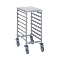 Stainless Steel GN 1/1 Tray Trolley - FREE SHIPPING & INSTALLATION