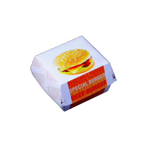 Paper Burger Box - 500 pieces