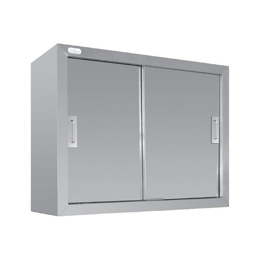 Stainless Steel Wall Cabinet with Sliding Door | FREE SHIPPING & INSTALLATION