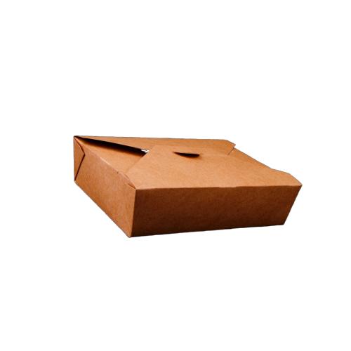 Kraft PE Take Away Box