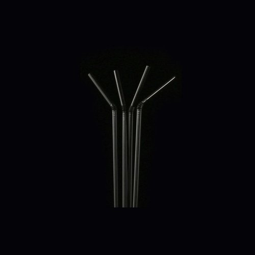 Black Flexible Straw -  8 mm