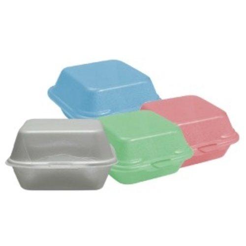 Foam Burger Box - Different Sizes & Colors