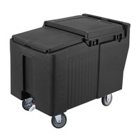 SlidingLid™ Black Portable Ice Bin