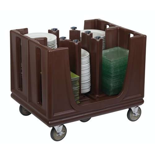 Cambro Adjustable Dish Caddy | ADC33131 | ADC33 | BROWN