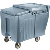 Slate Blue Portable Ice Bin | SlidingLid™ | ICS125L
