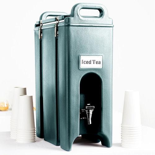 Cambro Slate Blue Insulated Beverage Dispenser | 4.75 Gallon