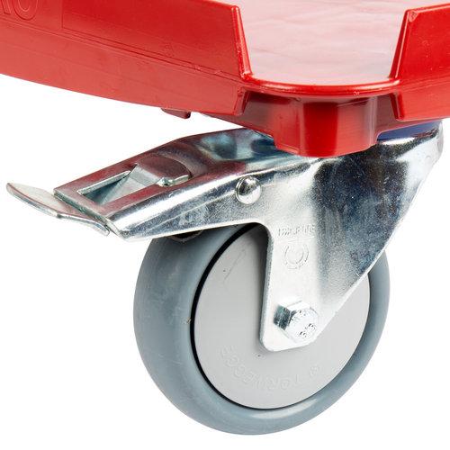 Cambro Cam GoBox® Hot Red Camdolly® | CD3253EPP158