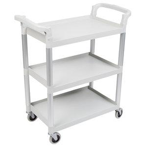Cambro Speckled Gray Three Shelf Utility Cart