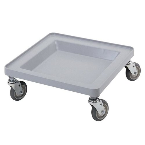 Cambro Soft Gray Camdolly Dish / Glass Rack Dolly | CDR2020151