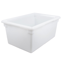 "White Poly Food Storage Box | 26"" x 18"" x 12"""