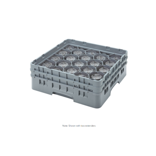 Cambro High Customizable Soft Gray 20 Compartment Glass Rack | Different Size