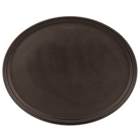 "Non-Skid Oval Serving Tray | 22"" x 27"""