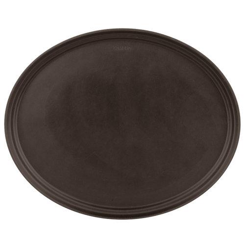 "Cambro Non-Skid Oval Serving Tray | 22"" x 27"""