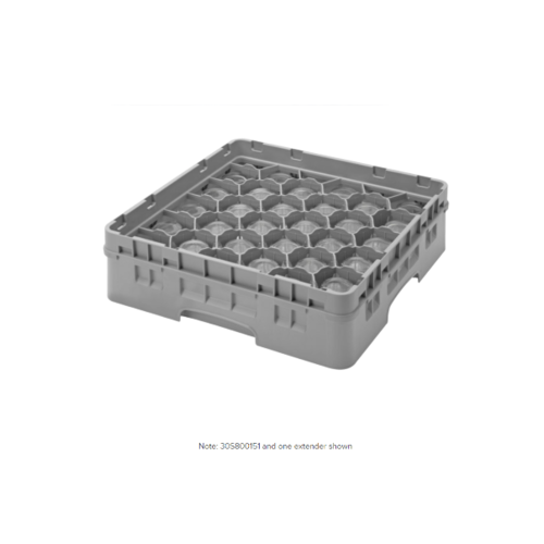 Cambro Gray Camrack Customizable 30 Compartment  Glass Rack | Different sizes