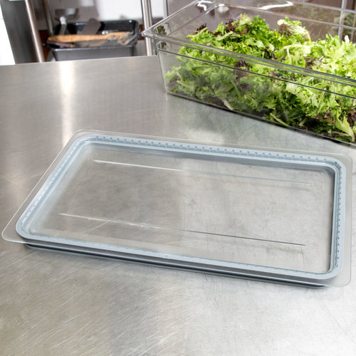 Cambro Full Size Clear Polycarbonate GripLid | 10CWGL135 | Camwear