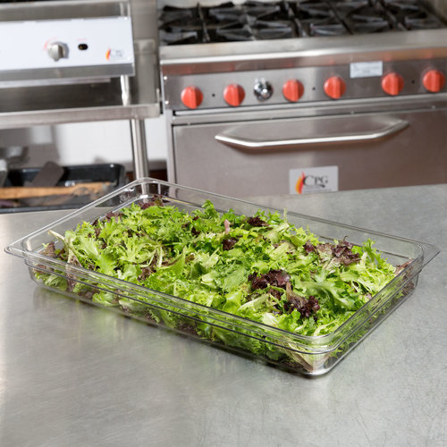 """Cambro Full Size Clear Polycarbonate Food Pan 