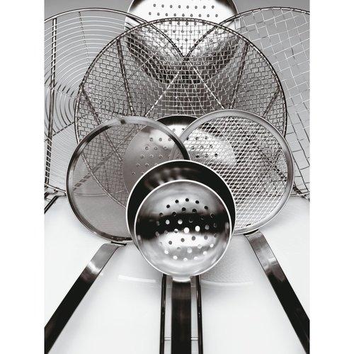 Paderno Mesh Skimmer for Bouillon - Stainless steel