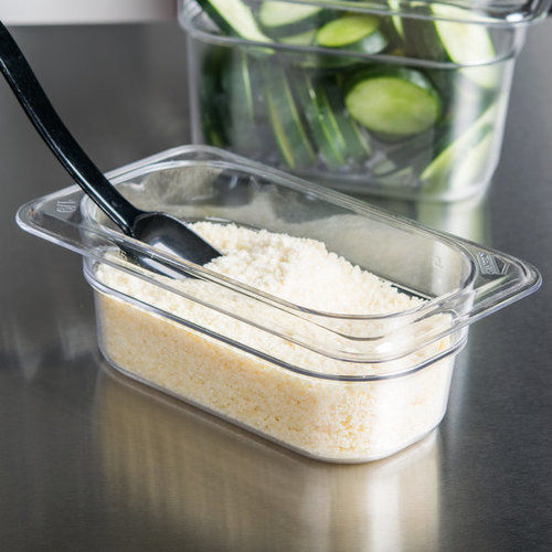Cambro 1/9 Size Clear Polycarbonate Food Pan | Camwear | Different Pan Depth