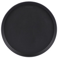 "16"" Black Non-Skid Serving Tray 