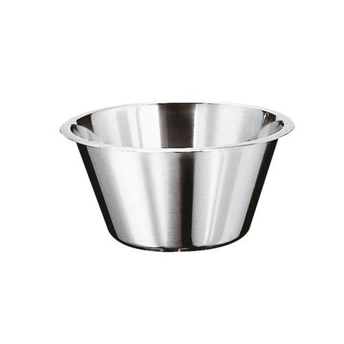 Paderno Kitchen Bowl Low - Stainless steel