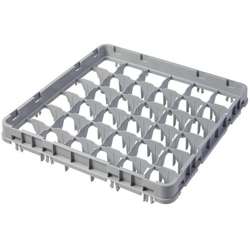 """Cambro Compartment Soft Gray Full Drop Full Size Camrack Extender 