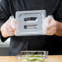 Clear Polycarbonate Handled Lid | Different sizes
