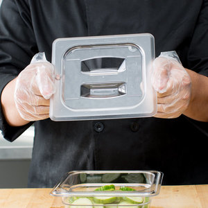 Cambro Clear Polycarbonate Handled Lid | Different sizes