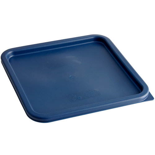 Cambro Midnight Blue Square Polyethylene Lid for 12, 18, and 22 Qt. Food Storage Containers