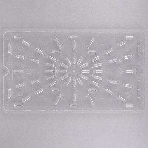 Cambro Full Size Clear Polycarbonate Drain Tray| 10CWD135 | Camwear